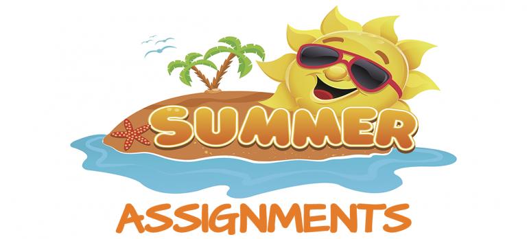 Summer assignments 2018